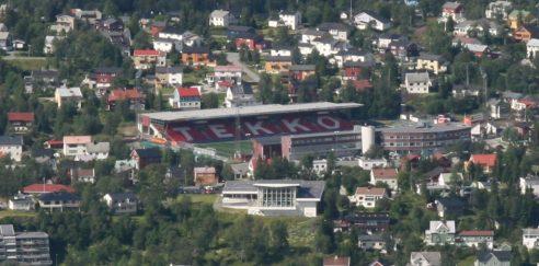 """Alfheim Stadion er byens """"storstue"""" og har fått ovr 50 mnok. i kommunal garanti."""
