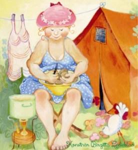 Birgitta Lindeblad, campingliv_102