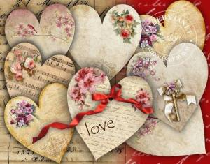 Love hjärtan