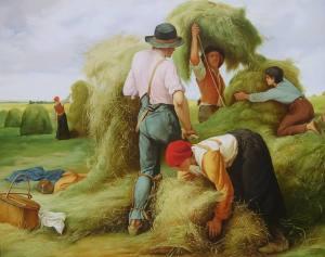 Arbetare på fältet
