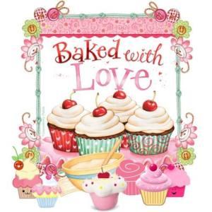 Bakade med kärlek