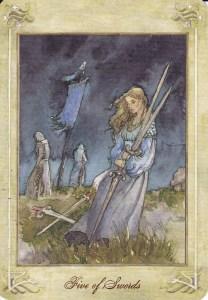 Fem svärd
