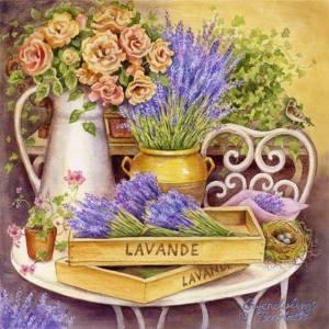 Bort lavendel blommor