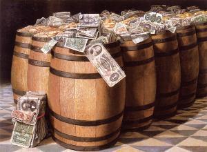 Pengar tunnor