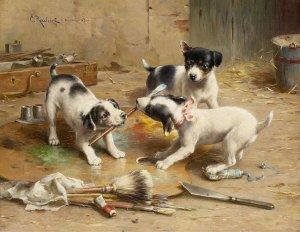 Hundvalpar mark