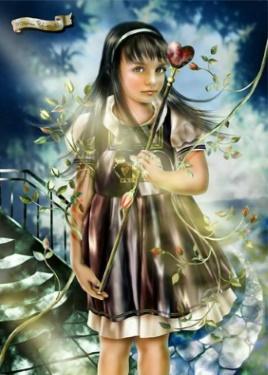Flicka kvist hjärta kopia