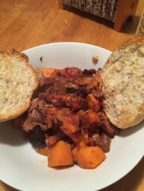 African sweet potato stew.