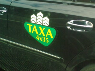 Taxa 4x35 overtager fra 1. august kommunens taxakørsel. Foto: iNyheder.dk