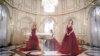 A still from the music video for 'Dear Santa'