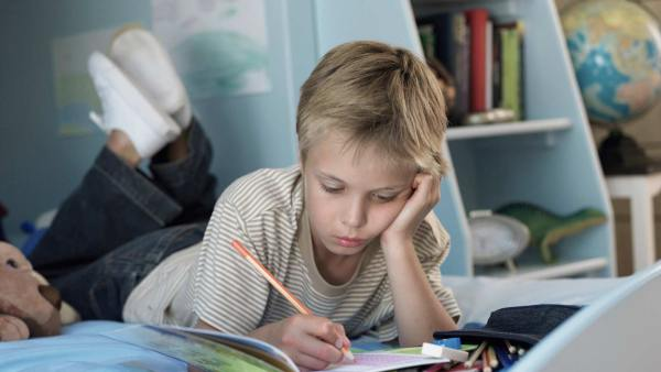 What to do if a child has a problem with math how does he touch math