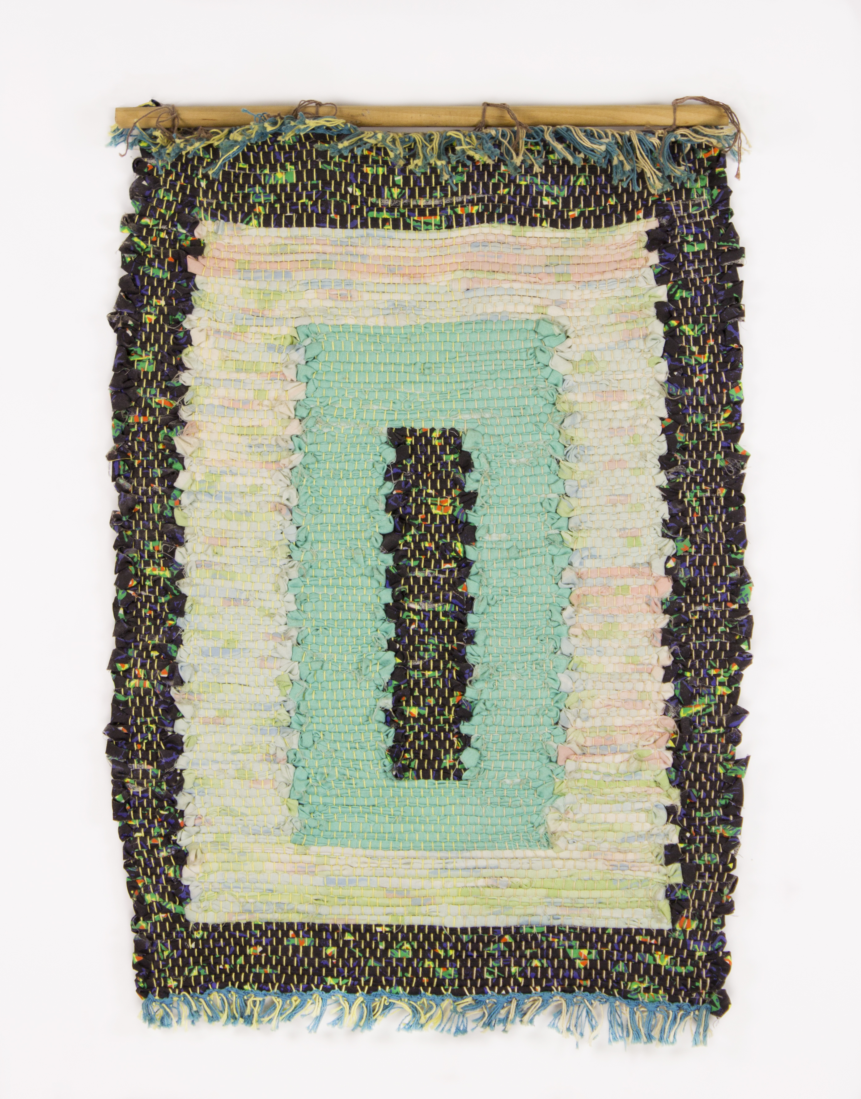 """""""Untitled"""" 1994, Woven Fabric, 28x19IN"""
