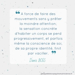 citation inspirante Bois - mouvements conscience de soi