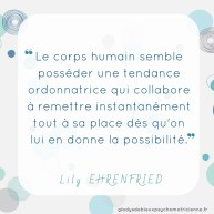 citation inspirante Ehrenfried - corps tendance ordonnatrice
