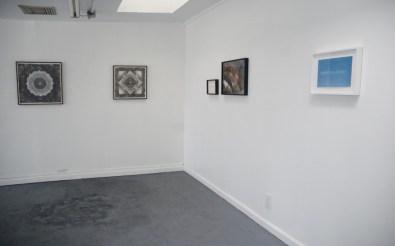 Installation view, from left to right: Brendan Threadgill, Tamara Sussman, Ginny Cook