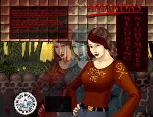 Amanda's Recurring Nightmares Cover Artwork © Ron Maxwell