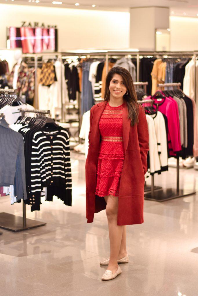 Trench Coat Zara Woodfield Mall