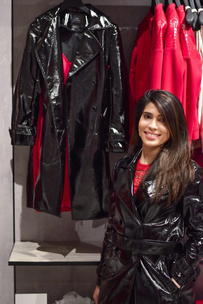 Armani Exchange Trench Coat Woodfield Mall
