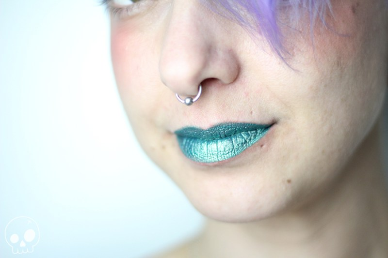 sephora collection audacious emerald glamash