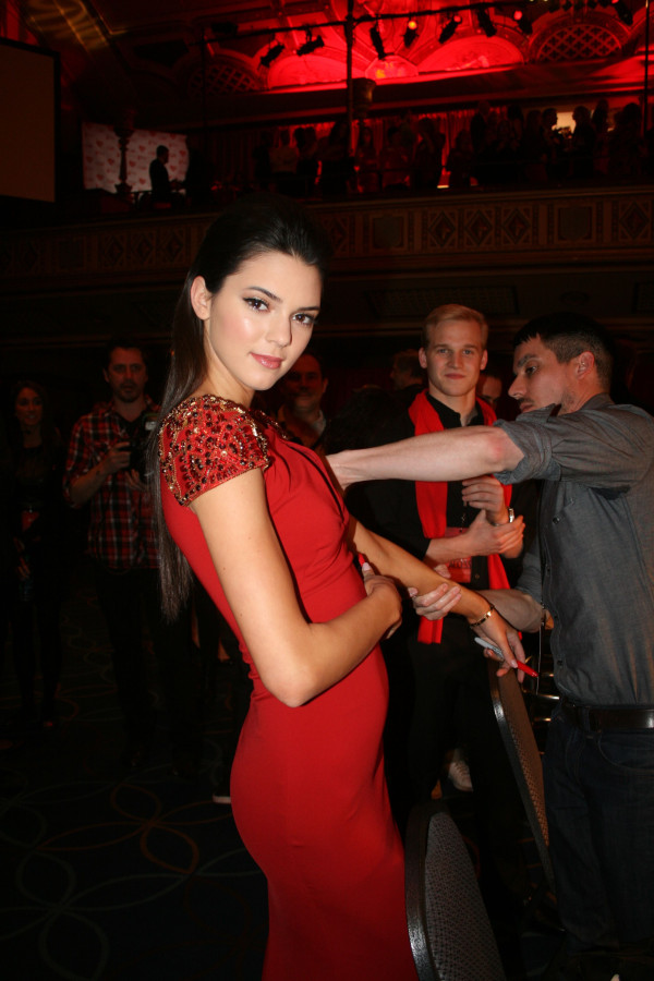 Kendall Jenner at 2013 Heart Truth Red Dress Collection Show