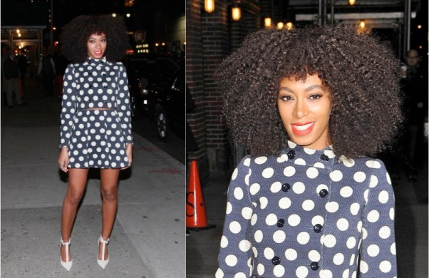 Solange Knowles in Moschino