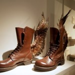 "Florence, Salvatore Ferragamo Museum: ""The Amazing shoemaker Fairy Tales about shoes and shoemakers""; Annette Lemieux"