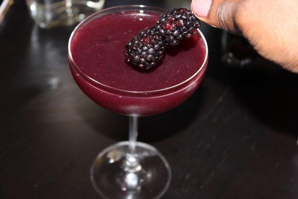 Blackberry Gin Cocktail Step 11