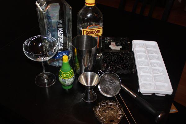 Blackberry Gin Cocktail