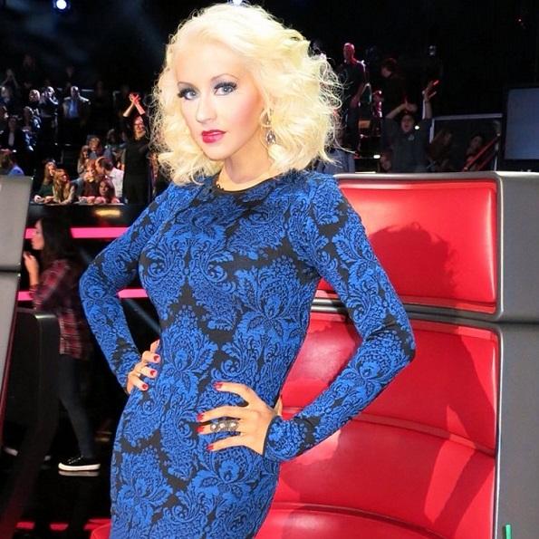 Christina Aguilera Poses Nude While Pregnant