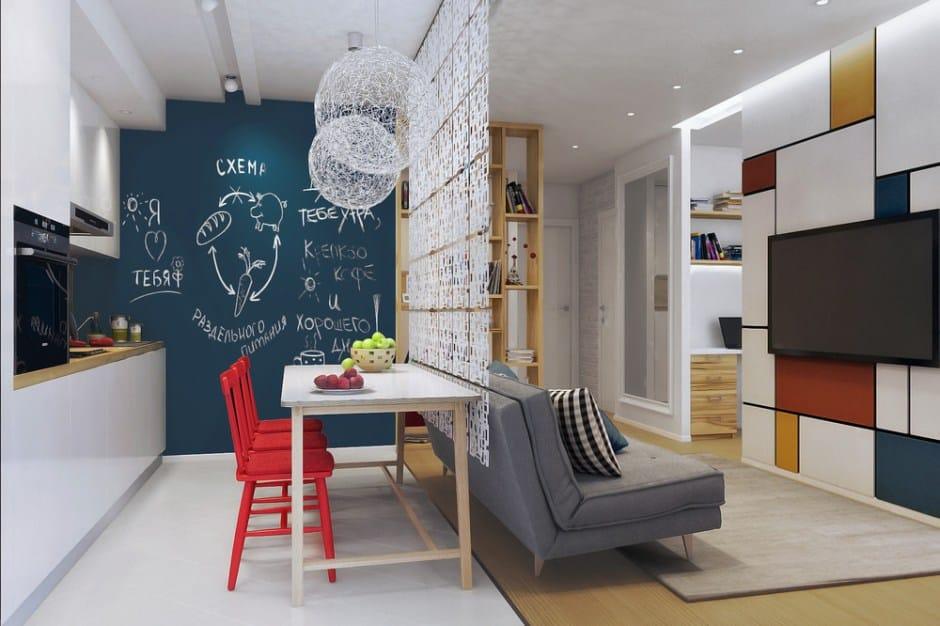 Pavimento e arredamento in un ambiente open space. 6 Idee Per Dividere Cucina E Soggiorno Esempi Pratici Da Cui Prendere Spunto Glamcasamagazine