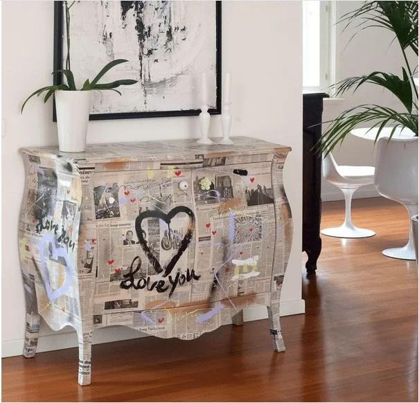 Visualizza altre idee su mobili dipinti, sedie dipinte a mano, riciclo creativo dei mobili. Decorare Pareti Pavimenti E Mobili Idee Glamour Glamcasamagazine
