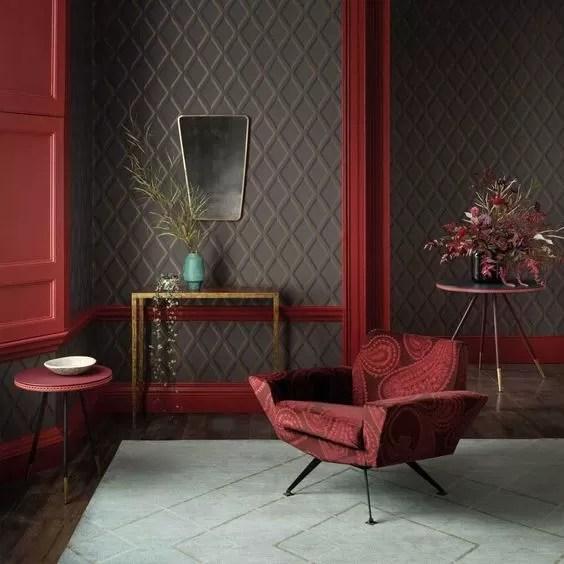 Création muro di pietra grigio rosso 816. Carta Da Parati Moderna E Di Design I Trend 2020 Da Non Perdere