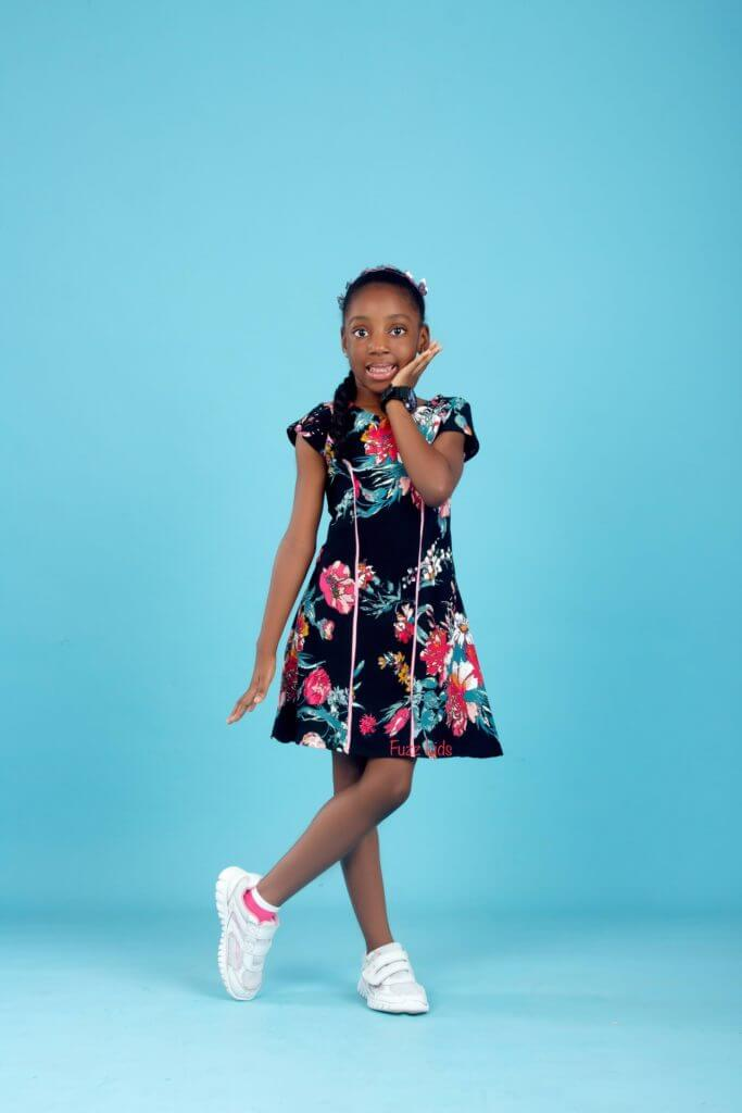 "Fuzz kids ""Dynamic Girl"" Dress Collection Is Definitely An Upgrade To A Child's Cuteness 1"