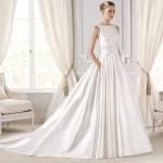 abito sposa in mikado 1 Glam Events1 1