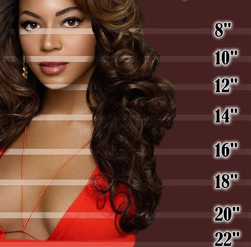 how long is 16 inch hair weave indian remy hair