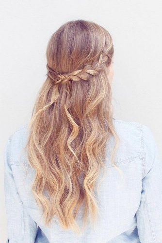 Beautiful and Easy Hairstyles for Homecoming picture 4