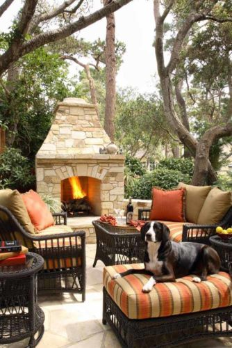 30 Amazing Outdoor Fireplace Ideas on Amazing Outdoor Fireplaces id=56797