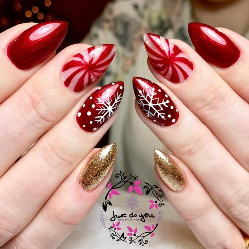 Christmas Nail Art Picture 3