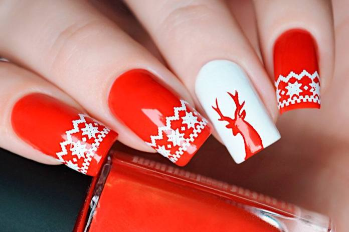 31 Christmas Nail Art Designs With Themed Ornaments