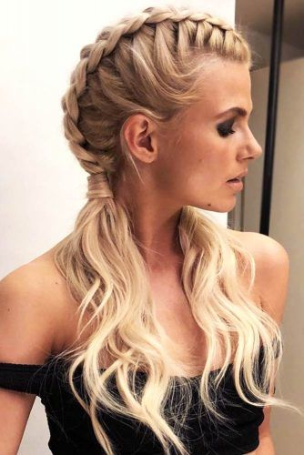 Trendy Dutch Braids Hairstyles For Perfect Look #braids
