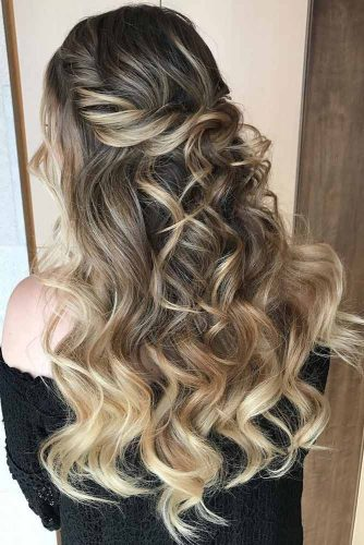 Half-Updo Hairstyles For Long Hair picture1