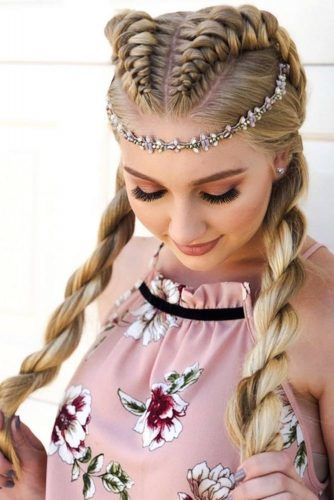 Trendy Rope Braids Hairstyles For Perfect Look #braids