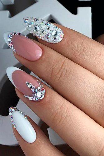 Chic Nail Arts for Beautiful Brides