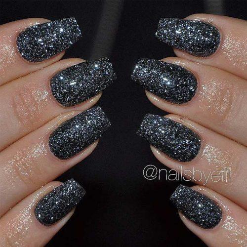 Simple Glitter Nails Designs picture 6