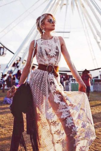 Stylish Boho Outfit Ideas With Maxi Dresses Or Skirts