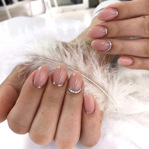 Elegant Oval Nail Shape #elegantnail