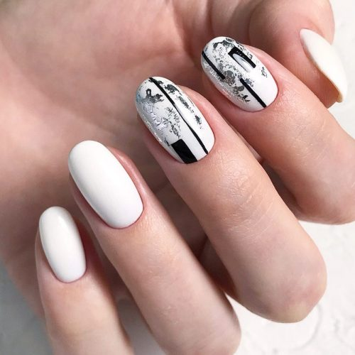 Natural Oval Nail Shape #natural