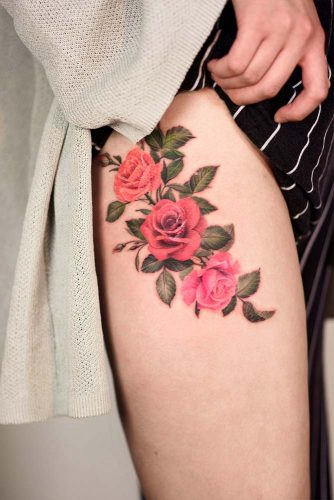 c92b6d45f7b76 Rose Tattoos Ideas For Your Next Visit To The Tattoo Studio - crazyforus