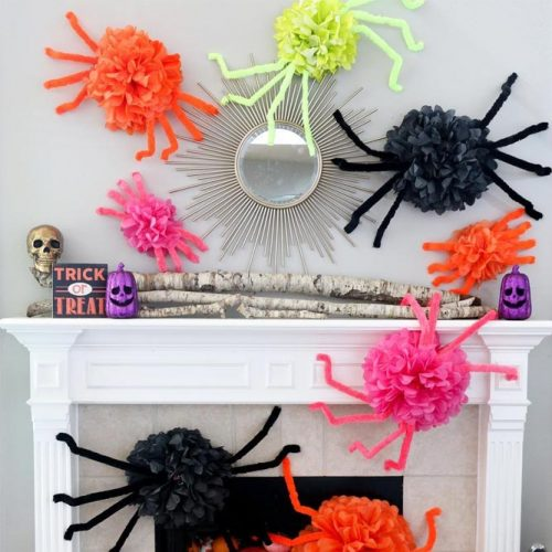 Simple Spiders Décor Ideas