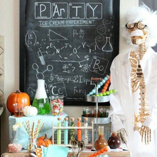 Chemical Halloween Party Bash