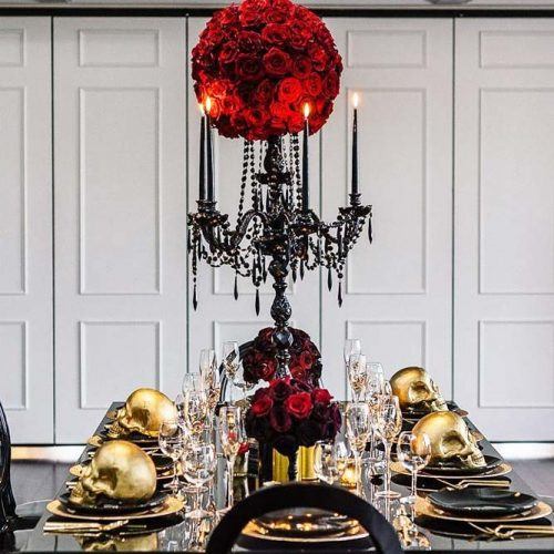 Glam Skull Table Decorations